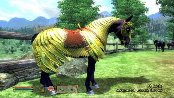 PferderüstuPferderüstung in The Elder Scrolls IV: Oblivionng in The Elder Scrolls IV: Oblivion