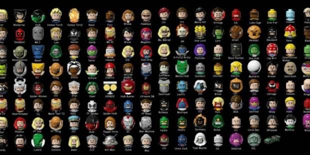 Alle Marvel Charaktere