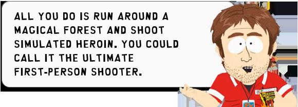 South Park Zitat zu Heroin Hero