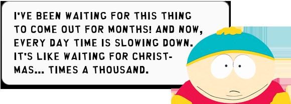 Cartman Zitat über die Nintendo Wii