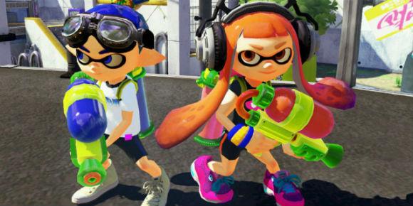 Nintendo Splatoon Wii U