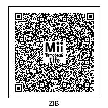 Tomodachi Life Zwerg-im-Bikini QR Code