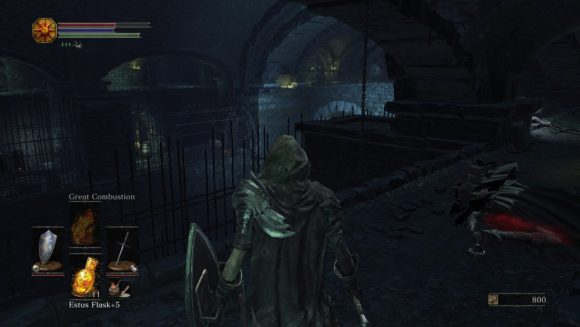 Dark Souls 3 Dungeon