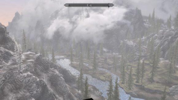 Skyrim mit schöneren Wolken