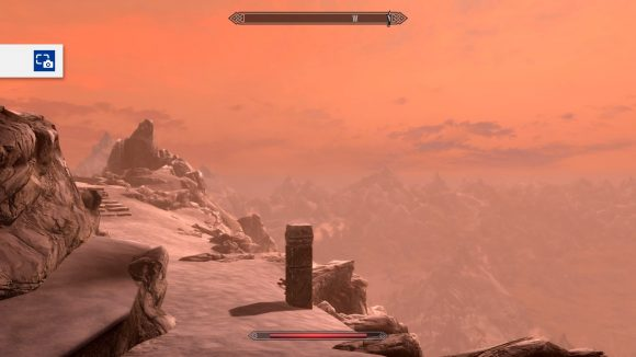 Skyrim in orange