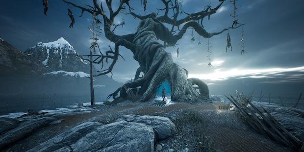 Grimmiger Totenbaum ist grimmig