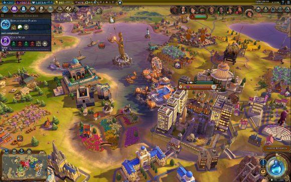 Die niederländische Nation unter Wilhelmina. Quelle: Civilization VI: Rise & Fall.