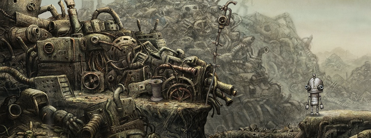 Screenshot – Machinarium