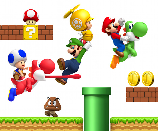 Artwork - New Super Mario Bros. Wii